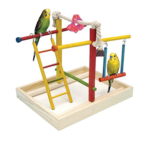 (Penn Plax Wood Bird Playpen)