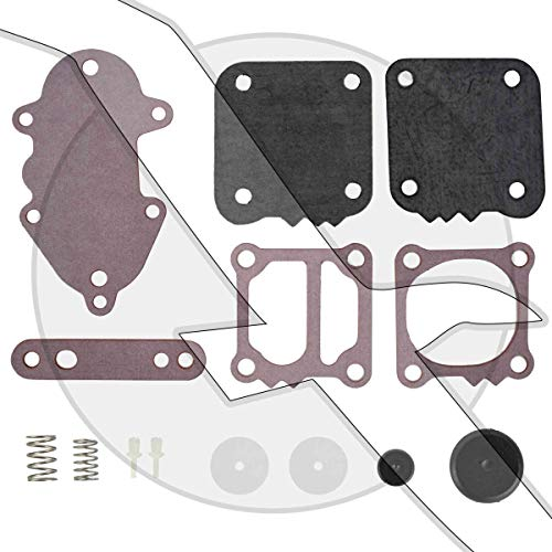 EMP Ouboard Fuel Pump Diaphram Gasket Kit for Mercury/Mariner Outboard 21-857005A1