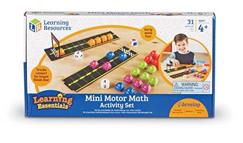 Learning Resources Mini Motor Math Activity Set (LER7731) (Math Game Life Skills)