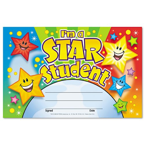 star student award printable thevillas co