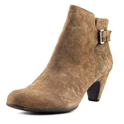 Taupe Kid Leather (Sam Edelman Women's Mona New Taupe Kid Suede Leather Boot 10 M)