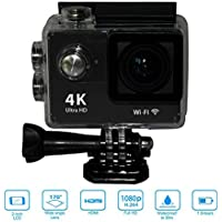 Mini Sport H9 Action Camera 2.0inch Display Ultra HD 4K 12MP WiFi Remote 30M Waterproof Camcorder for IOS and Android