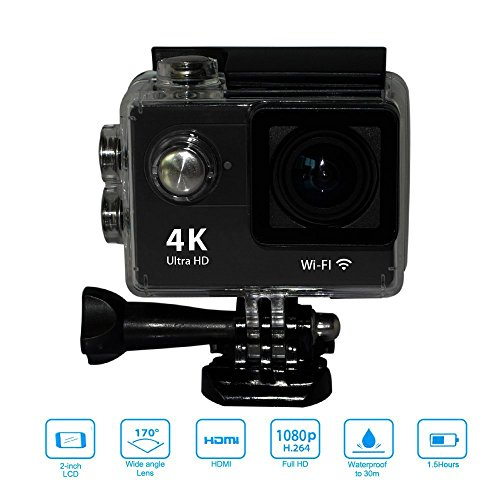 Mini Sport H9 Action Camera 2.0inch Display Ultra HD 4K 12MP WiFi...