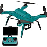 MightySkins Protective Vinyl Skin Decal for 3DR Solo Drone Quadcopter wrap Cover Sticker Skins Solid Teal