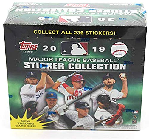 - 2019 Topps MLB Baseball Sticker box (50 pks/bx, 4 stickers/pk)