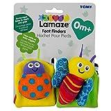 Lamaze LC27091 Calcetines para estimulación motora del bebé, 0 - 12 meses, colores surtidos