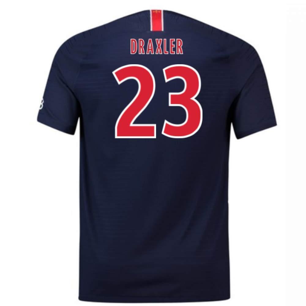 2018-2019 PSG Home Nike Football Soccer T-Shirt Trikot (Julian Draxler 23)