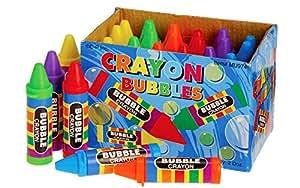 Crayon Bubbles, 24 Count