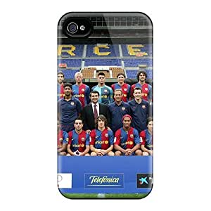 Awesome Fc Barcelona Flip Cases With Fashion Design Iphone 5/5S