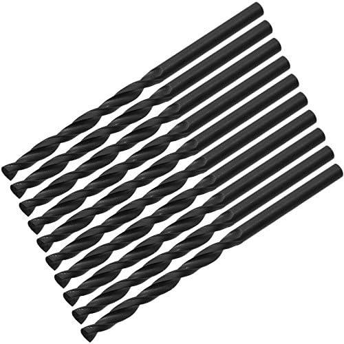 10 Stück HSS-R Metallbohrer Ø 5,5 x 93 mm Spiralbohrer Schaft Ø 5,5 mm