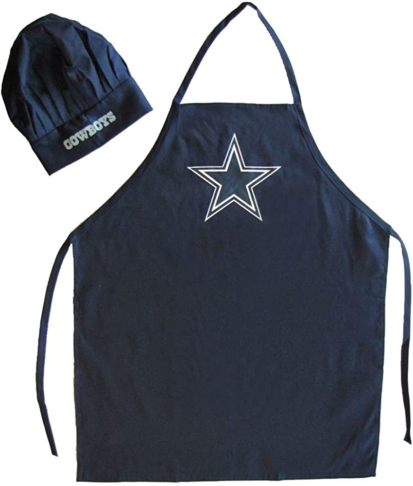 PSG Alternate Dallas Cowboys Apron and Chef Hat Set