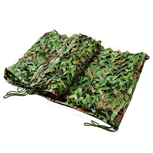 Woodland Camouflage Net Outdoor Hunting Camping Military Camouflage Sun Shelter Net Blinds Tarp Car-covers Tent
