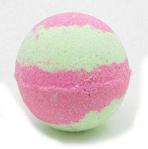 Sour Watermelon Candy Bath Bomb   Bath Fizzy   Made with Avacado Oil, Clay and Other Natural Ingredients by Hickory Ridge Soaps   Large Bath Bomb   5.5oz