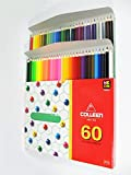 Colleen Colored Pencils Hexagon Set 60 Colors