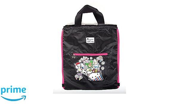 9c9bdb2480d3 Amazon.com  SANRIO tokidoki x Hello Kitty Buffet Nylon Drawstring Bag  Toys    Games