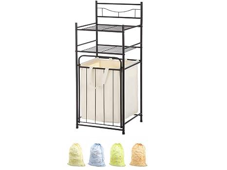 Amazon.com: Mainstays - Ahorro de espacio de baño de 3 ...