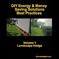 DIY Energy & Money Saving Solutions – Best Practices Volume 1 Landscape Hedge (Simple DIY Money Saving Green Solutions) (English Edition)