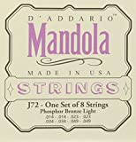D'Addario J72 Phosphor Bronze Mandola Strings, Light, 14-49