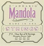 D'Addario J72 Phosphor Bronze Mandola Strings, Light, 14-49