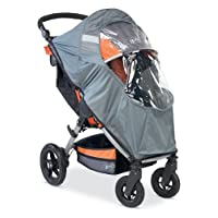BOB Weather Shield para cochecitos de movimiento, gris