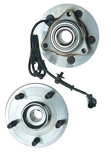 1500 Hub Pickup (02-2006 Ram Pick up 1500 5 Stud 4x4 4 Wheel ABS Front Hub Wheel Bearing WH515073)