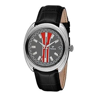 Zeigt Yema Sport Herren grau mit roten Streifen – ymhf1495 – Geschenk ideal