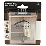 (3 Pack) MILANI Brow Fix Eye Brow Powder Kit – Dark Review
