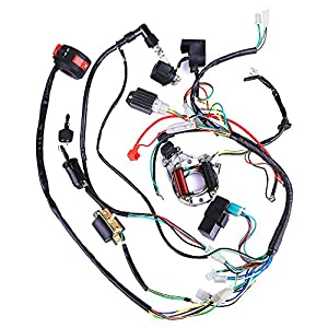 51VwjmuP62L._SY300_ amazon com complete electrics coil cdi wiring harness atv klx  at gsmx.co