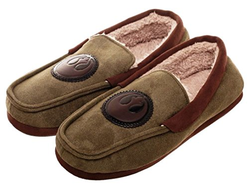 Star Wars Rebel Forces Adult Moccasins Slippers Shoes M-XL (Large)