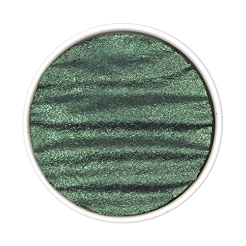"Coliro Artist Mica Pearlcolor Watercolor Paint, M007 Moss Green (1.2"" Refill) by Finetec GmbH"