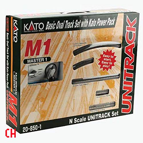 Kato USA Model Train Products M1 UNITRACK Basic Oval for sale  Delivered anywhere in USA