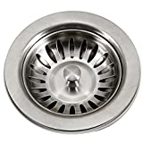 Houzer 190-9180 Sink Basket Strainer for 3.5-Inch Drain Openings