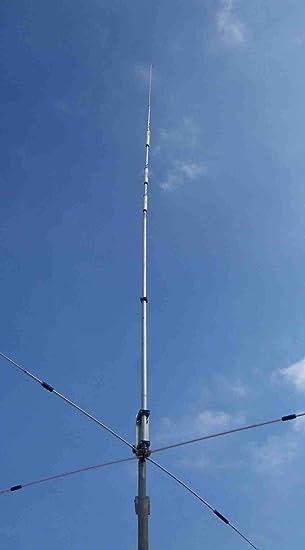 HAMRADIOSHOP Prosistel PST-1524VC - Antena Vertical multibanda trapeada con radiales rígidos Cargados