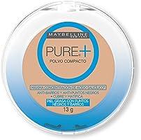Maybelline - Maquillaje facial en polvo, color Claro Natural, 13 g