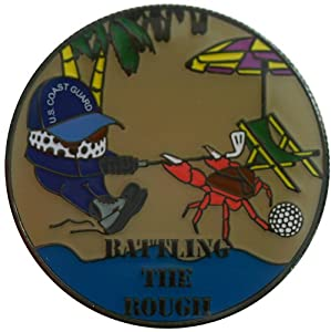 Two Sided Coast Guard Challenge Coin by Be The Ball 4U