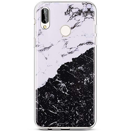Huawei Silicone 4 Marmo Antiurto marmo Trasparente Case Leggere Ysimee Ultra Lite Anti E Custodie Compatibile Chiaro Morbida 8 Protezione Puro Slim Con Cover graffio Sottile Tpu P20 t4SZ4
