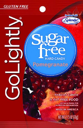 Go Lightly Sugar Free Candy For Diabetics Pomegranate/2.75 oz./