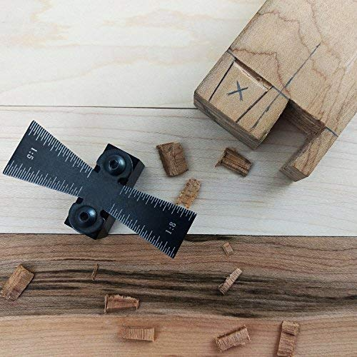 """ATLIN Dovetail Marker – Dovetail Jig Guide for 1"""" Dovetails Featuring 1:5 and 1:8 Slopes by ATLIN (Image #3)"""