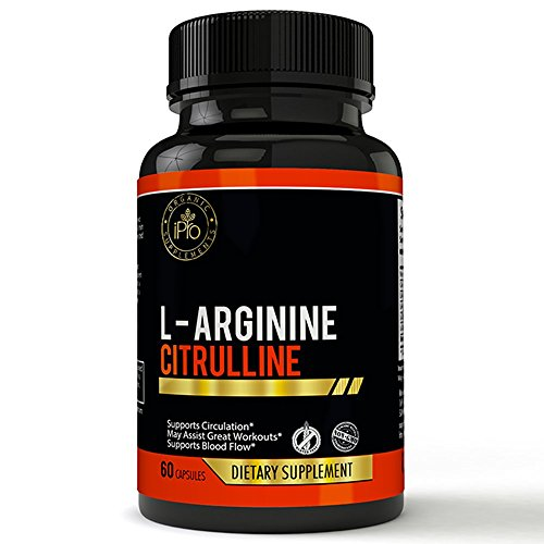 L-Arginine No Blast Nitric Oxide Supplement - Muscle, Post Workout Recovery Formula - Blood Circulation, Heart Health, L-Arginine, L-Citrulline, Beta Alanine, L-Citrulline Malate, Veg (Nitric Blast)