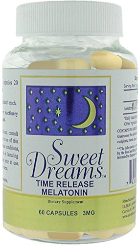 Sweet Dreams Time Release Melatonin, 3mg,