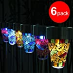GRDE 6 Pack Originality LED Garden So...