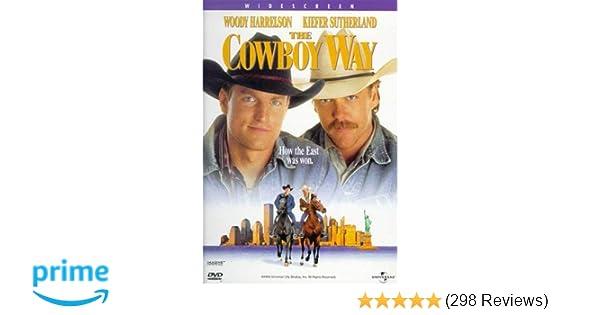 Amazon com: The Cowboy Way: Woody Harrelson, Kiefer Sutherland