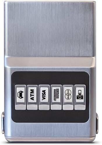 ACM Wallet RFID Protecting Case – Money Clip Credit Card Holder, Elite Organization & Eliminate Scratching & Static