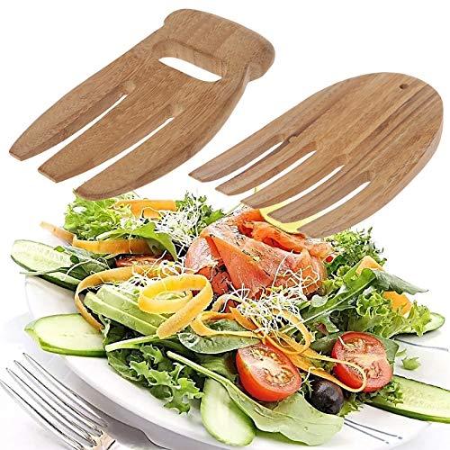 (Wooden K - Eco Friendly Bamboo Ks Hand Claw Tong Handle Utensils Reusable - Initial Keepsake Plant Needles Salad Sign Letter Knife Wooden Storage Button Kitchen Katana Board Bamboo Tray Kids Ha)