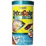 Tetra 77199 TetraColor Tropical Crisps, 7.41-Ounce, 1-Liter