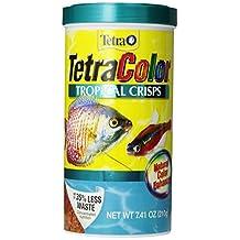 Tetra 77199 7.41-Ounce, 1-Liter TetraColor Tropical Crisps