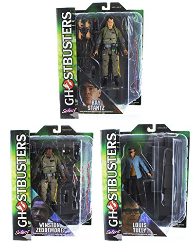 Ghostbusters Select Series 1 Action Figure: Set Of 3