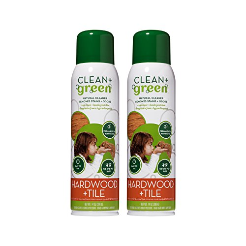(Hardwood and Tile Cleaner, Natural Non-Toxic Stain Remover, Deodorizer, Odor Eliminator (14oz) (2 Pack))