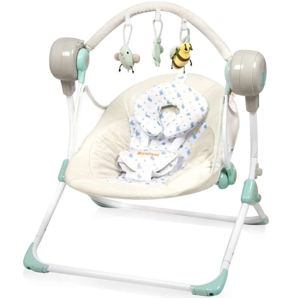 Elektrische Automatische Babyschaukel BANINNI Stellino Automatik Baby Wiege (Birdy) BN005