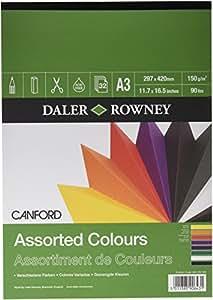 Daler Rowney Canford Almohadilla Engomado Color A3 *
